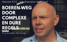 Thumbnail voor Boeren weg uit Nederland door vele regels