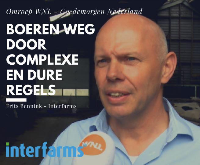 Afbeelding voor Boeren weg uit Nederland door vele regels