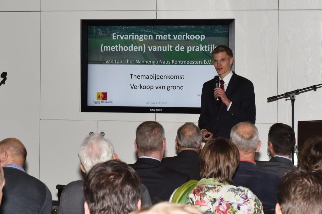 Afbeelding voor Themamiddag Verkoop Grond provincie Zuid-Holland