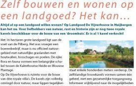 Thumbnail voor Aandacht van Huis & Tuin voor bouwkavels Huijbergen