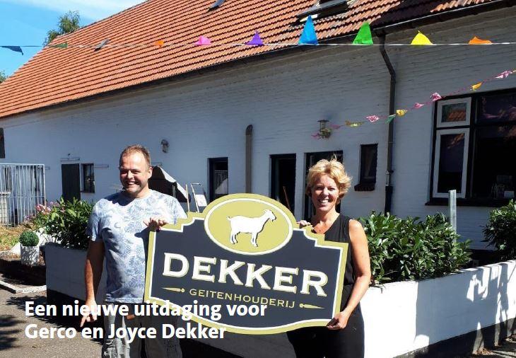 Afbeelding voor Een nieuwe uitdaging voor Gerco en Joyce Dekker