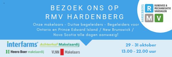 Afbeelding voor Interfarms VLNN Makelaars aanwezig op de beurs in Hardenberg (RMV HB 2019)!